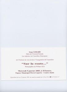 Invitation à l'exposition